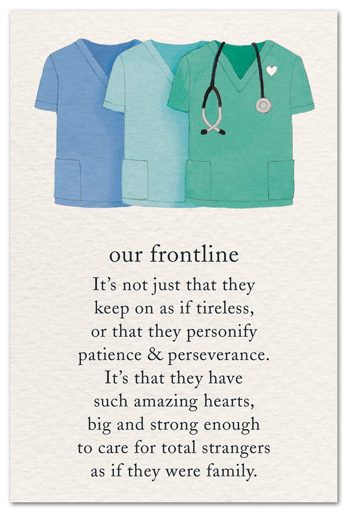 Greeting Card ~ Our Frontline