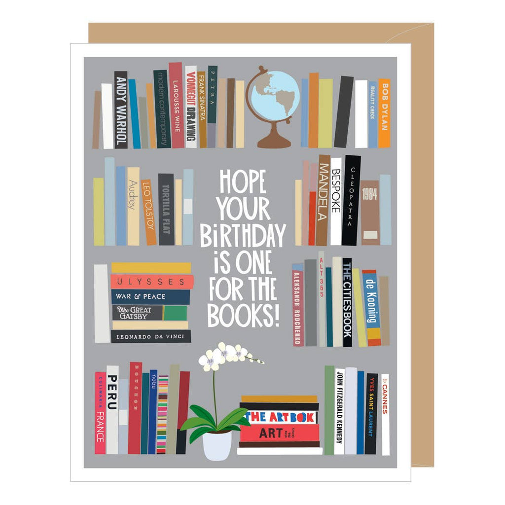 Happy Birthday ~ Bookshelf