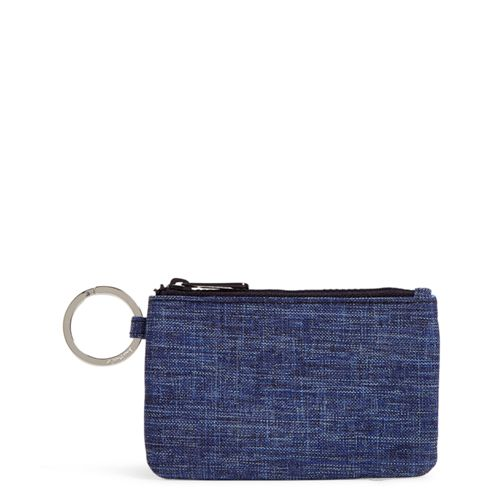 ReActive Zip ID Case ~ Dark Blue Heather