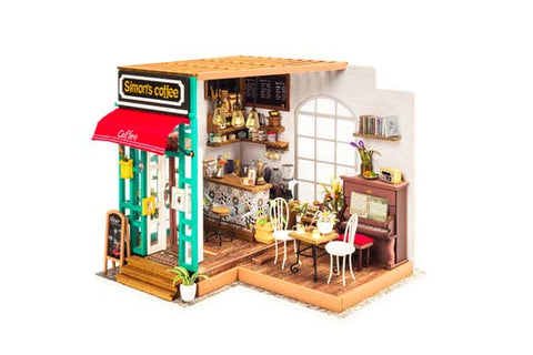 DIY Miniature House ~ Simon's Coffee