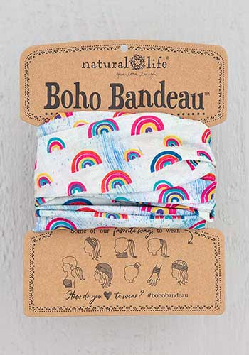 Boho Bandeau ~ Rainbows