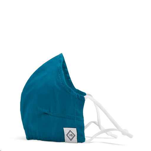 Fitted Mask w/ Adjusters ~ Deep Water Teal