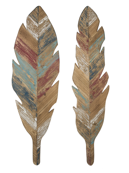 **In-Store Only**  Feather Wall Decor