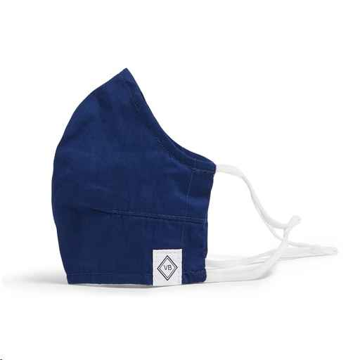 Fitted Mask w/ Adjusters ~ Hale Blue