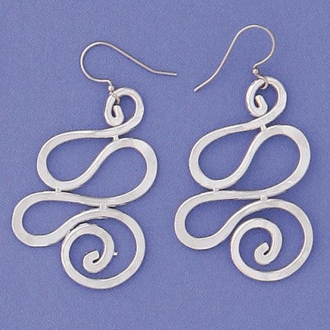 Pewter Earrings (412)