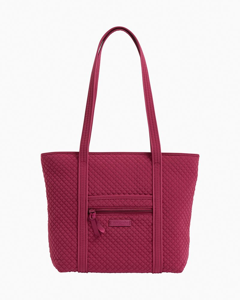 Small Vera Tote ~ Raspberry Radience