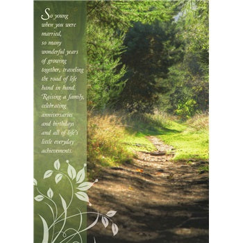 Sympathy Card ~ Loss of Spouse