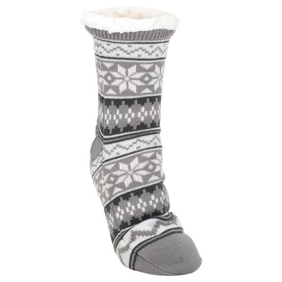Nordic Sherpa Slipper Socks