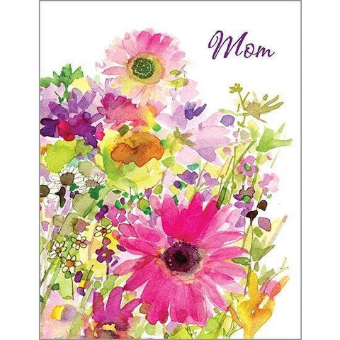 Mother's Day Card - Magenta Daisies