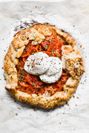 Brunch Cooking Party- Tomato Galette with Poached Eggs