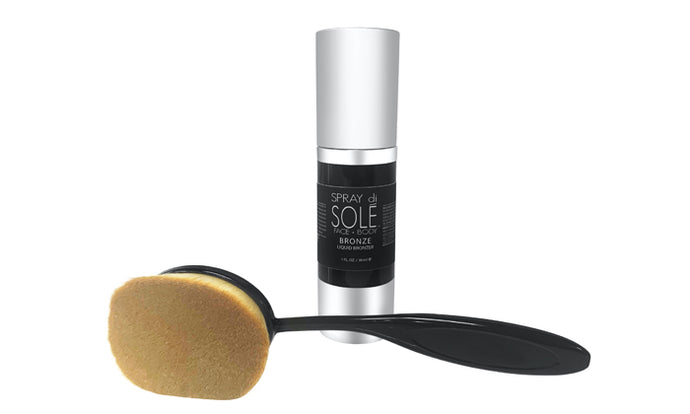 Liquid Bronzer & Contour Brush (you must press redeemed on your Groupon voucher)
