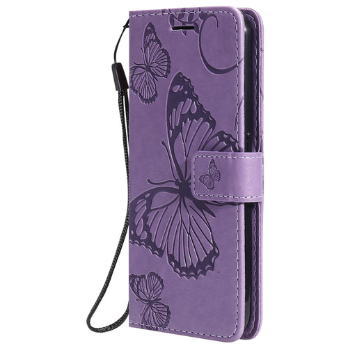 Butterfly Wallet Case - Purple