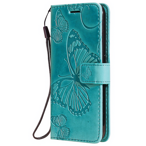 Butterfly Wallet Case - Teal