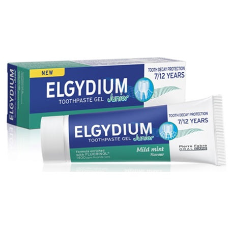 Elgydium Junior Toothpaste Junior Mild Mint, 50ml ( X8 Packs )