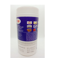 Disinfectant Wet Wipes Kills 99.9% Germs, Bacteria & Viruses (80 wipes/Pack)( MOQ 10 Canister)