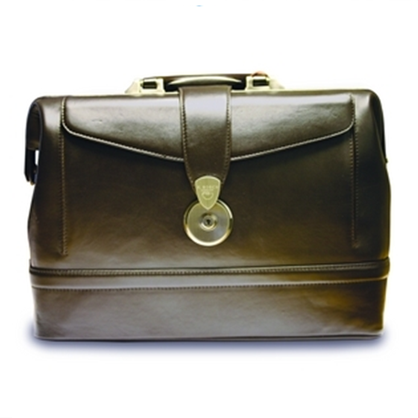 F. Bosch Camelot Traditonal Doctor's Bag, Brown