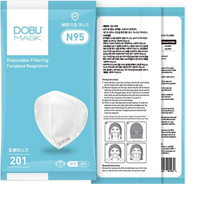 Dobu N95 Particulate Disposable Respirator (25 Pieces/Box) (SAVE 35% & MORE - Limited Offer)