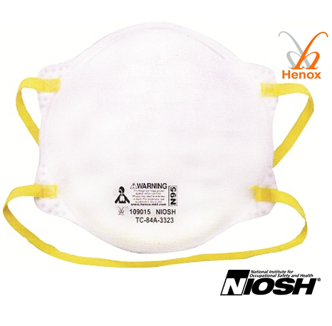 Henox N95 Cone Respirator, #SE-109015, 20 Pieces/Box