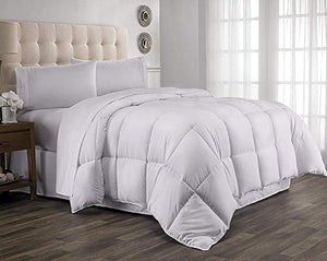 Exclusive 100% Organic Cotton Comforter 1000 Thread Count, Superior Softness-Italian Finish 1-Piece Comforter Sold by Casa Decor,Solid, Size - King