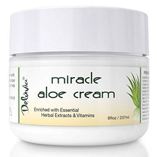Load image into Gallery viewer, Face & Body Miracle Aloe Vera Moisturizing Cream - Facial Moisturizer Lotion – Day & Night Hydrating Skin Care for Dry, Aging, Sensitive Skin, Eczema, Psoriasis, (8 oz), for Men & Women. by Deluvia