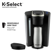 ギャラリービューアに画像を読み込み、Keurig K-Select Coffee Maker, Single Serve K-Cup Pod Coffee Brewer, With Strength Control and Hot Water On Demand, Matte Black