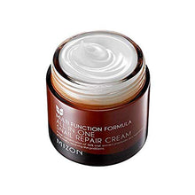 Load image into Gallery viewer, Snail Repair Cream 2.53 oz, Face Moisturizer with Snail Mucin Extract, All in One Snail Repair Cream, Recovery Cream, Korean Skincare with Snail Extract, Wirnkle & Blemish Care by Mizon (2.53oz 75ml)