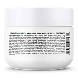 Face & Body Miracle Aloe Vera Moisturizing Cream - Facial Moisturizer Lotion – Day & Night Hydrating Skin Care for Dry, Aging, Sensitive Skin, Eczema, Psoriasis, (8 oz), for Men & Women. by Deluvia