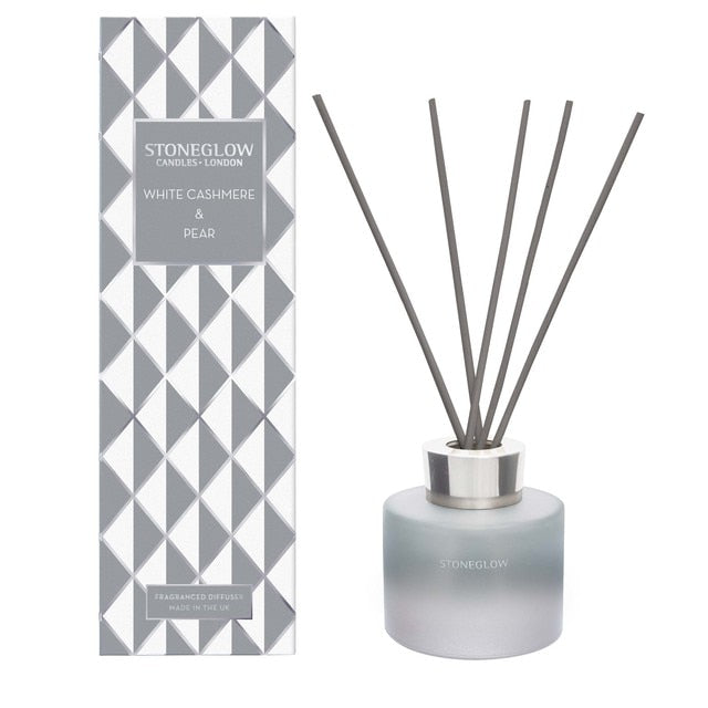 Stoneglow Seasonal Collection White Cashmere & Pear Reed Diffuser