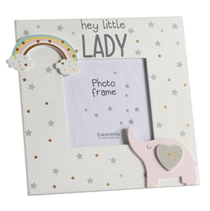 Hey Little Lady Photo Frame