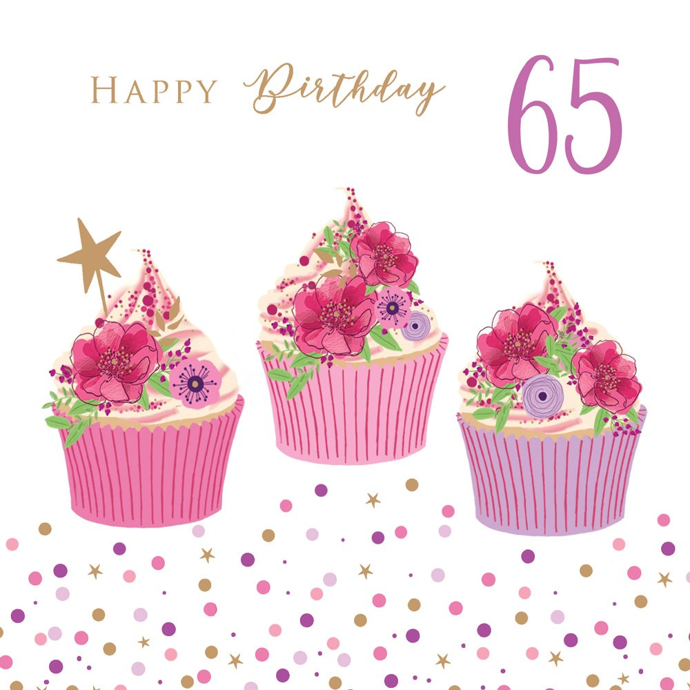 Happy Birthday - 65