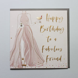 Happy Birthday - Fabulous Friend