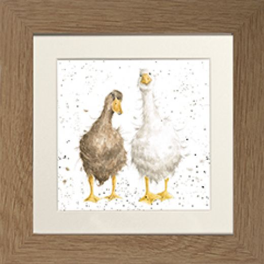 'Friends Since Egghood' Framed Mounted Print