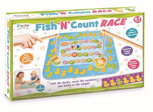 Fiesta Crafts Fish 'N' Count Race