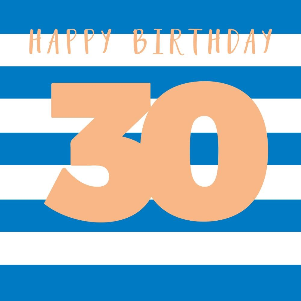 Happy Birthday - 30