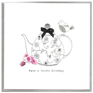 Lovely Birthday - Teapot