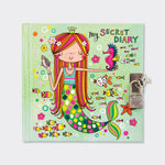 Load image into Gallery viewer, My Secret Diary - Mermaid & Seahorse