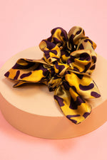 Load image into Gallery viewer, Powder Leopard Print Scrunchies (2)