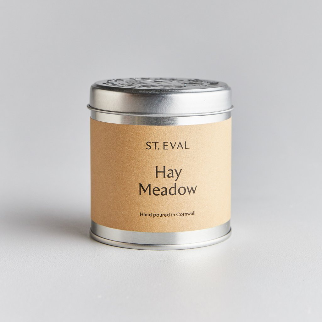 St. Eval Hay Meadow Scented Candle Tin