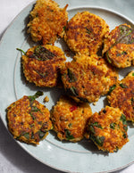 Chicken Lentil Fritters
