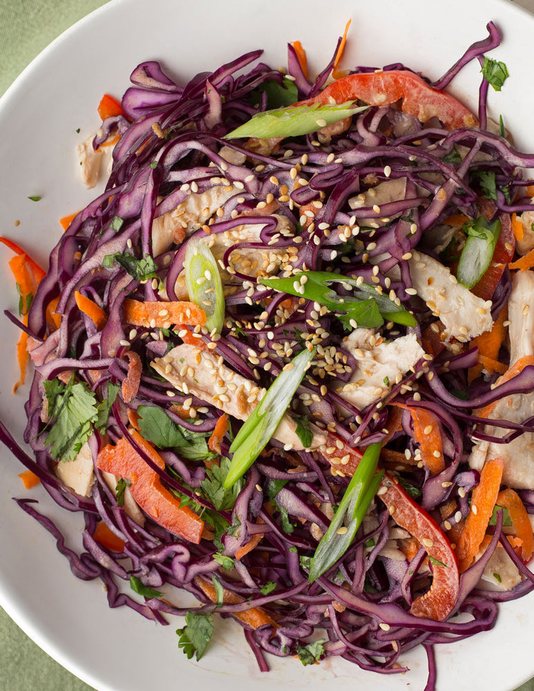 Sesame Ginger Chicken Slaw