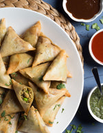 Bite-Size Chicken Samosas