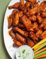Sriracha Maple Chicken Wings