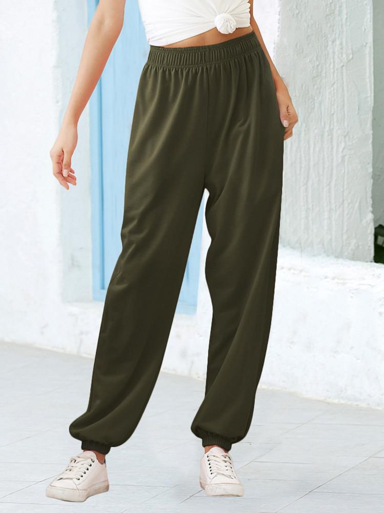 Stretchy Summer Sports Toe Pants - Amerisy