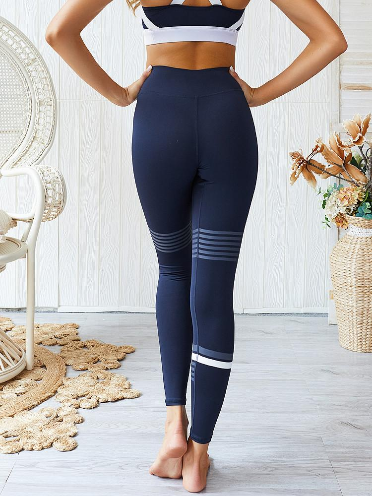 Yoga-Pants-Striped-Sports-Leggings