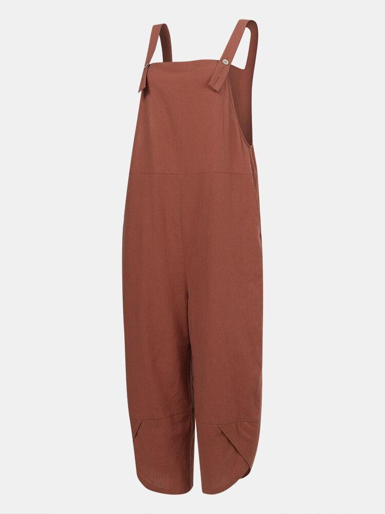 Straps-Plus-Size-Jumpsuits-with-Pockets