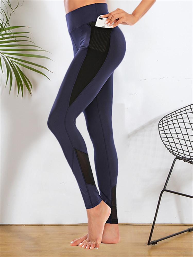 Mesh-Slim-Stretch-Yoga-Pants