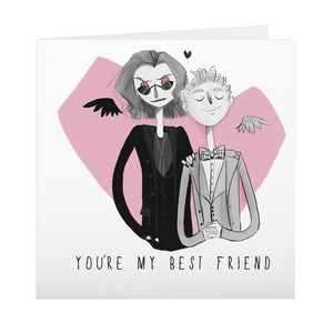 Valentine's Day Card - You're My Best Friend