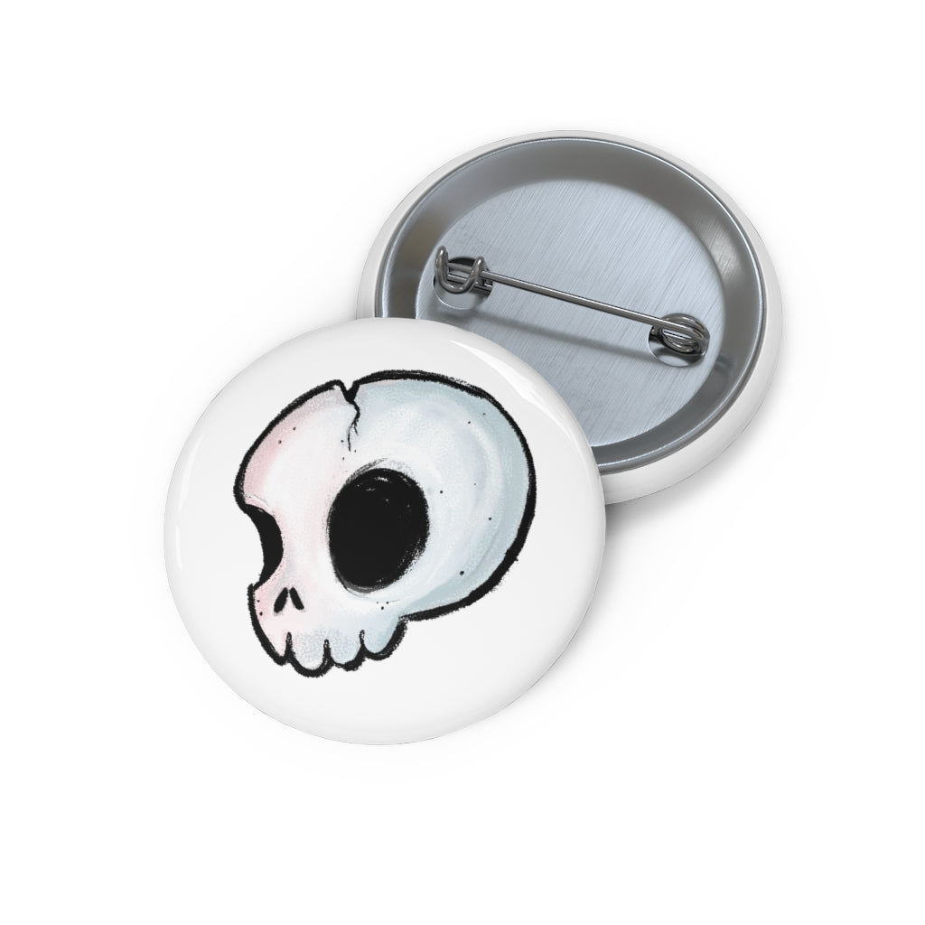 Pin Button - Skull
