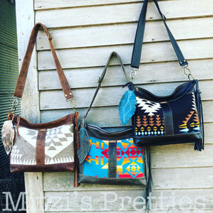 Pendleton & Leather Bags