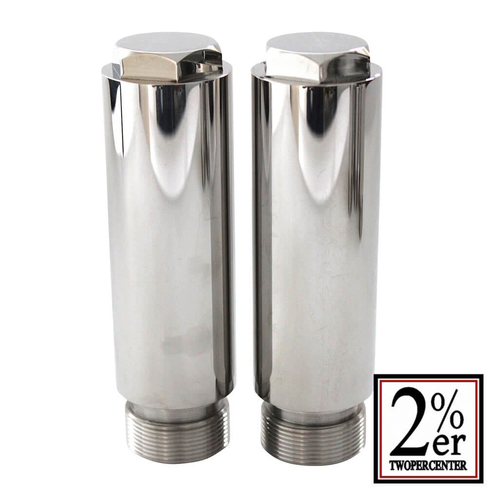 2%er 10cm long Joints for Front Fork (pair) [SR400/500]
